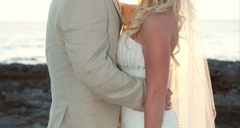 Our Wedding Day at Grand Old House, Grand Cayman, Cayman Islands | www.drnicolemeastman.com #faith #hope #love #marriage #commitment
