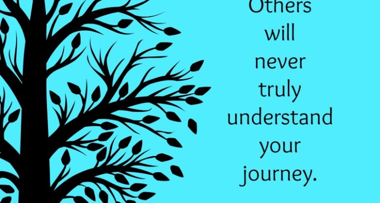 Others will never truly understand your journey | www.drnicolemeastman.com #quote #healing #pain