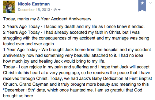 3 Year Accident Anniversary Memories | www.drnicolemeastman.com #pain #loss #healing