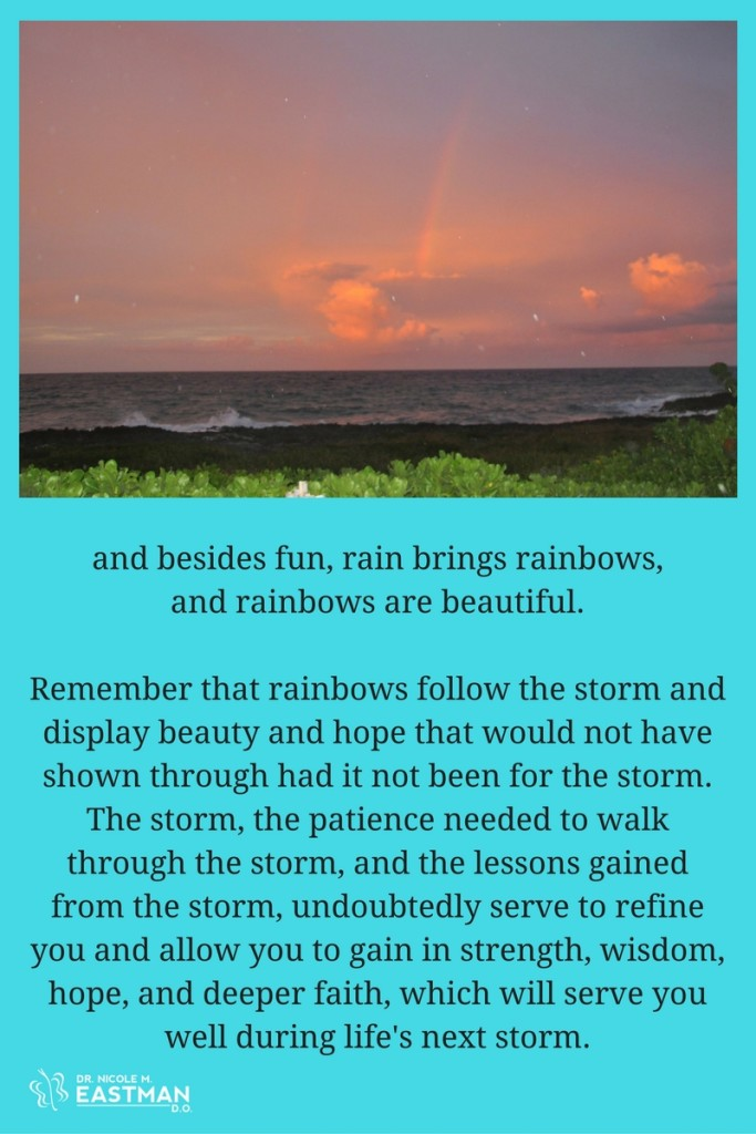 5 Encouraging Reminders | #rainbow | #adversity | #hope | #encouragement | #positivity | Dr. Nicole M. Eastman